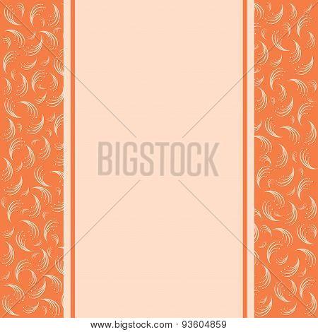 Vintage Background, Greeting Card, Invitation