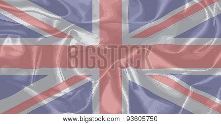 Silk Union Jack