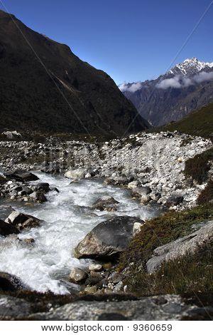Langtang valley.