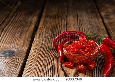 Preserved Red Chilis