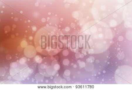 Mystic Color Abstract Background, Circle Bokeh