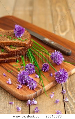 Bread With Fresh Chives