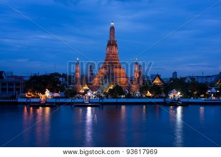 The best known temple of Thailand named