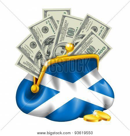 Economics and business purse Scotland