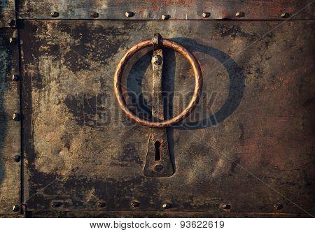 Vintage Knocker Door