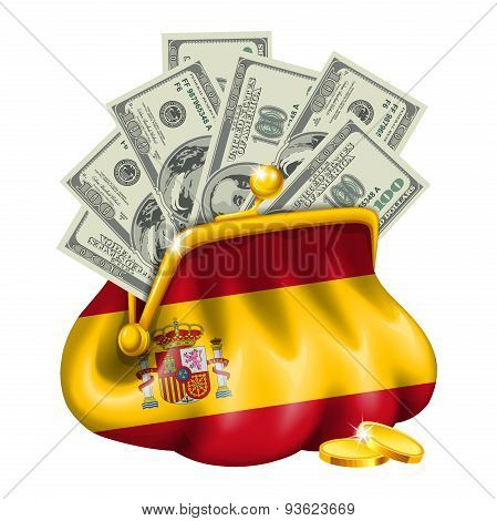 Economics and business purse Spain