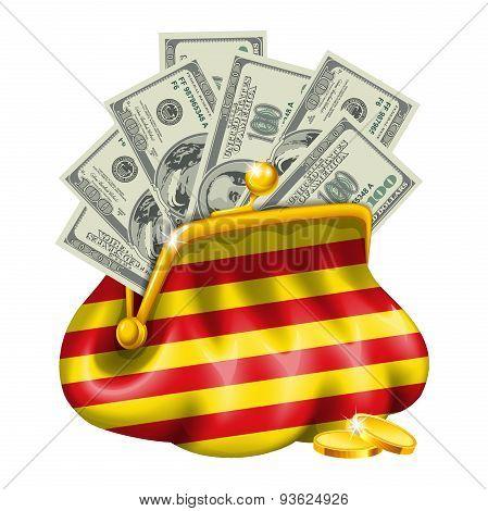Economics and business purse Catalonia