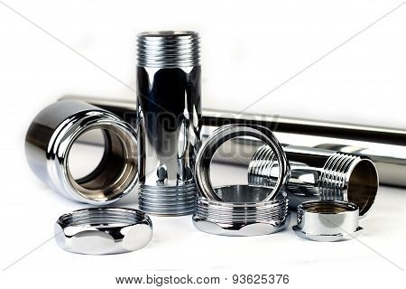 Chrome Pipe And Accessories