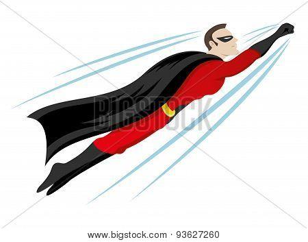 Vector illustration. Hero.