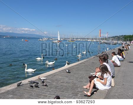 Geneve, Swiss, Summer