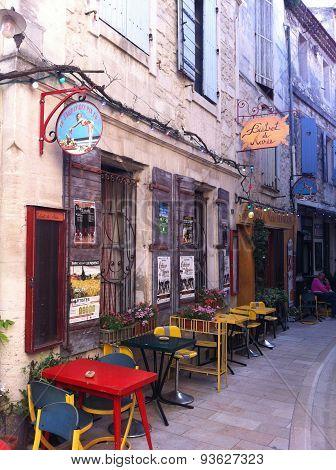 Povence, France, Bistro