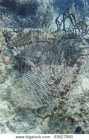 Underwater Wreckage