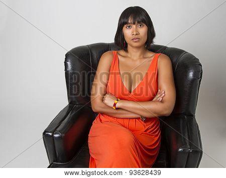 Serious Woman