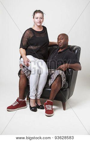 Diverse Couple