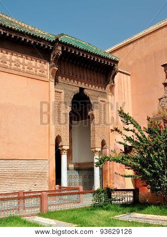 Marrakech Saadian Tombs