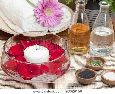 spa treatment aromatherapy