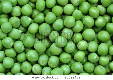 Green Peas Background Texture