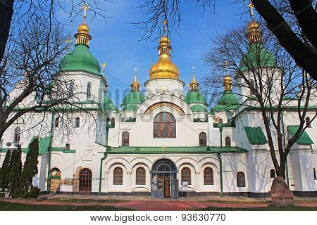 Saint Sophia Cathedral In Kyiv, Ukraine