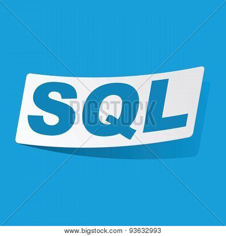 SQL sticker