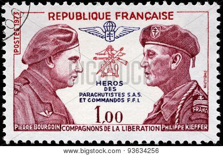 Bourgoin And Kieffer Stamp
