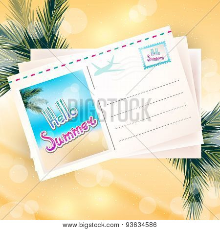 Abstract Background, Sunny Summer Day
