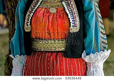Traditional Ukrainian Folk Costume For Women