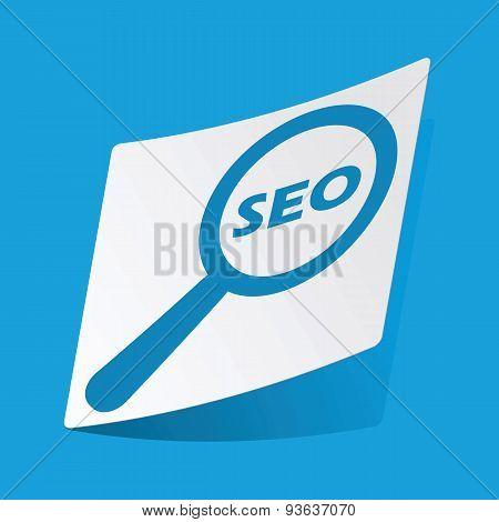 Seo search sticker