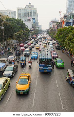 Public Transport In Bangkok, Thailand
