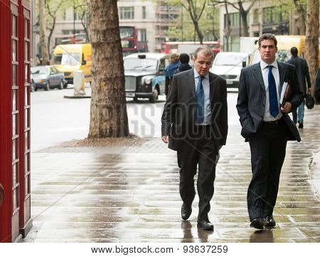 Businessmen In London