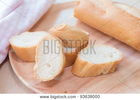Sliced French Bread