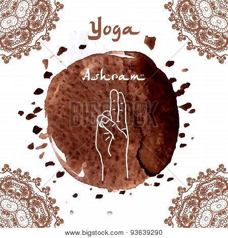 Element yoga mudra hands