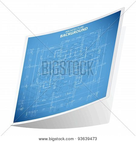 Architecture background sticker 2