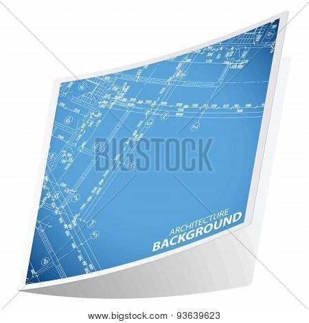 Architecture background sticker 4