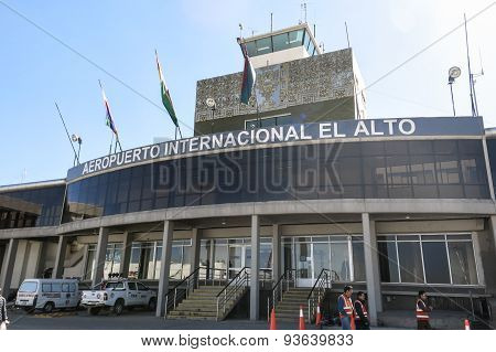 El Alto International Airport, Bolivia
