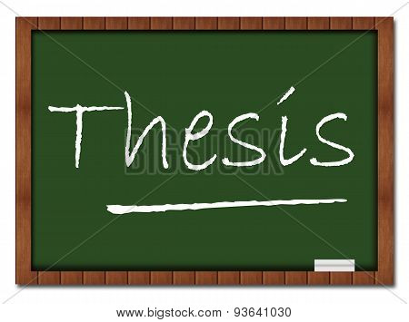 Thesis Classroom Board