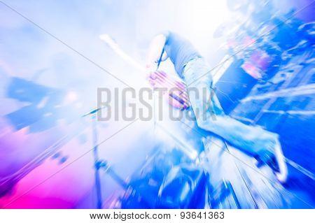 Guitarist Blur