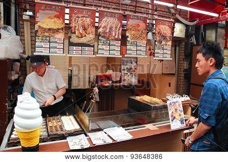 Japanese Pancake Snack Stall