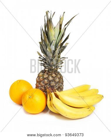 Tropical fruits isolated