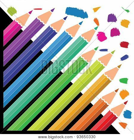 Colouring Pencils For Junior Artists