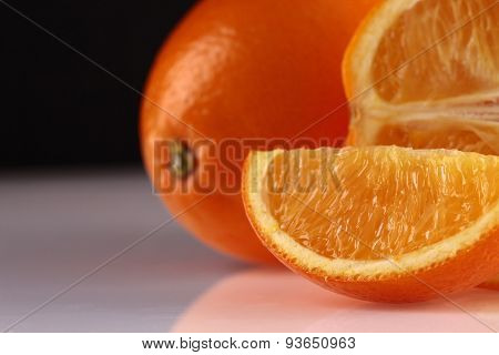 Segment And Whole Orange