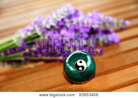 Chinese ball for relaxation