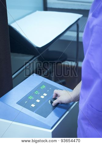 Rehabilitation Physiotherapy Microwave Machine In Clinic