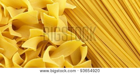 Raw Types Of Pasta