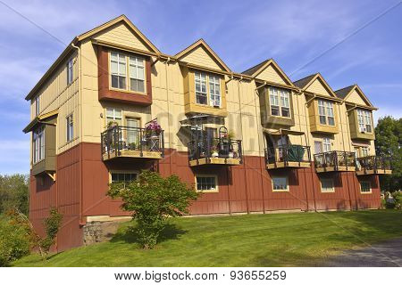 Family Condominiums In Fairview Village Oregon.