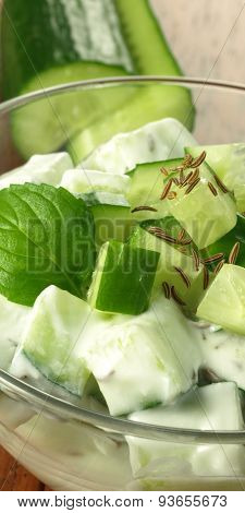 Photo Of Cucumber Salad
