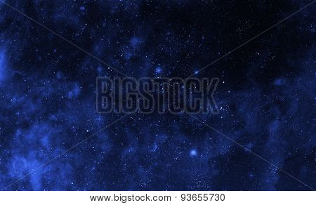 Fantastic abstract background from stars and galactic in space. Elements of this image furnished by NASA