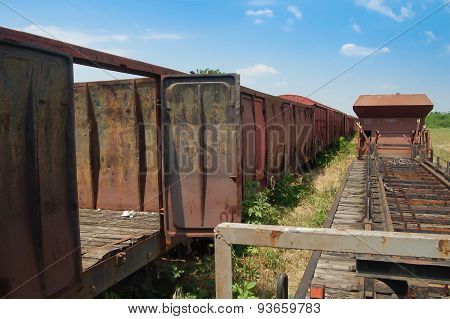 Old Railway Wagons