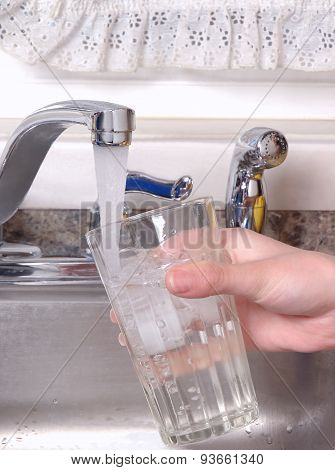 Tap Water From Sink