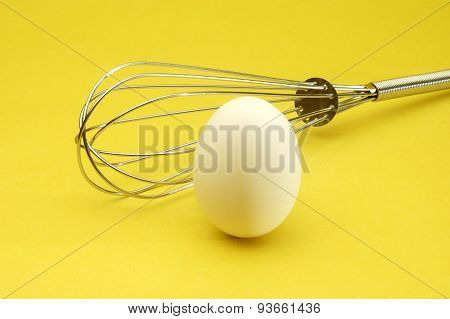 Egg On Yellow