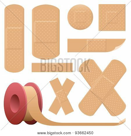 Plaster Adhesive Bandage Collection